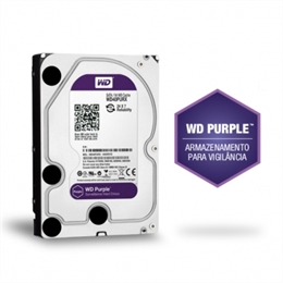 HD de 6TB Disco Rígido CFTV Purple WD60PURZ - Intelbras