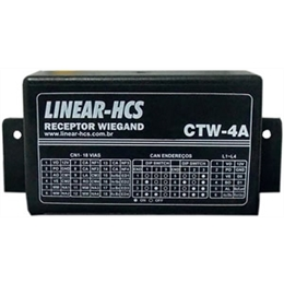 Receptor HCS Wiegand - CTW-4A - Linear