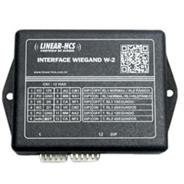 INTERFACE WIEGAND - W-2 - LINEAR