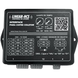 INTERFACE PARA COFRE COLETOR - LINEAR