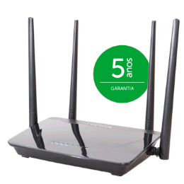Roteador Wireless Smart - ACtion R1200 - Intelbras