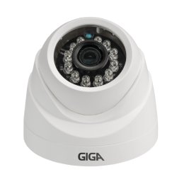 CÂMERA IP DOME 1 MP DWDR 1/4 IR 20M 2.8MM - GSIP1M20DB28
