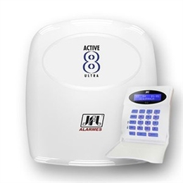 Central de Alarme - Active-8 Ultra - 12 zonas JFL