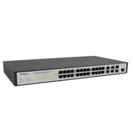 Switch 24 portas - SG 2404 MR - Intelbras
